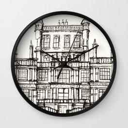 Wollaton Hall Wall Clock