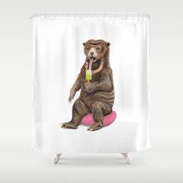Sun Bear - a Summer Bear 2013 Shower Curtain