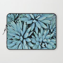 succulents in turquoise Laptop Sleeve