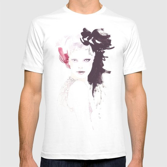 Fashion illustration in watercolors T-shirt