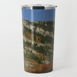 Mountain of Rock in Color Travel Mug