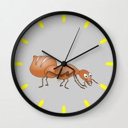 Cute Ant Wall Clock