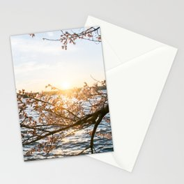 Sun Over the Horizon Stationery Cards