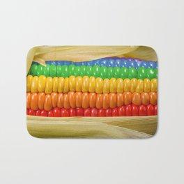 Rainbow Corn Bath Mat