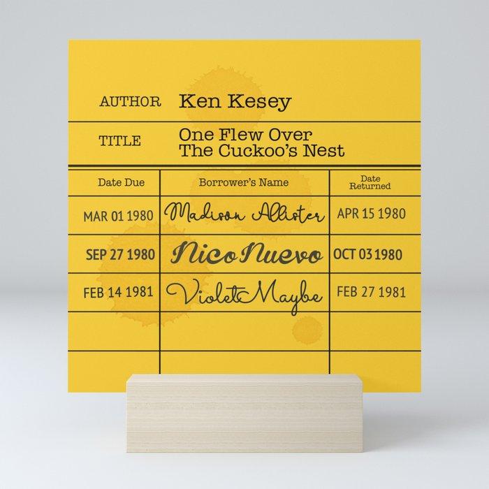KEN KESEY (1962) Mini Art Print