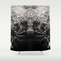 moth Shower Curtains featuring MOTH by ED design for fun