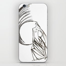 Angel under cover (home photo) iPhone Skin