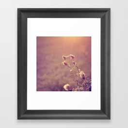 the softer you^^ Framed Art Print
