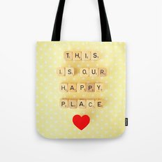 This is Our Happy Place ♥ Tote Bag