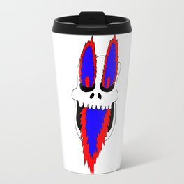 Fire skull Travel Mug