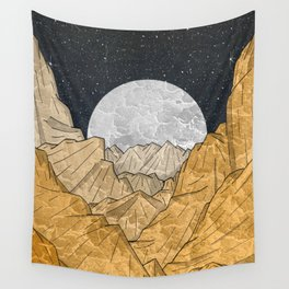 Copper Mounts Wall Tapestry
