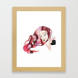 Imaginando un Bosque II Framed Art Print