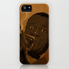 LOUIS ARMSTRONG II iPhone Case
