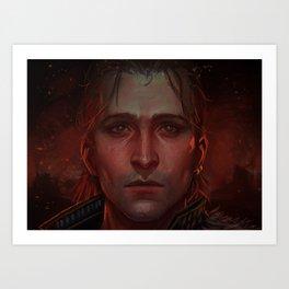 Dragon Age - Anders Art Print