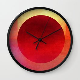 Circle Composition XIII Wall Clock