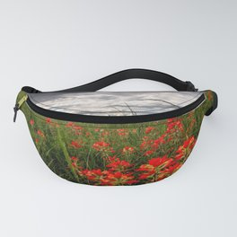 Brighten the Day - Indian Paintbrush Wildflowers in Eastern Oklahoma Fanny Pack