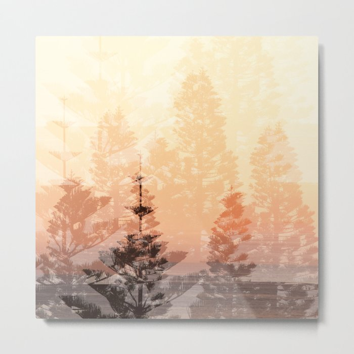 Breathe Metal Print