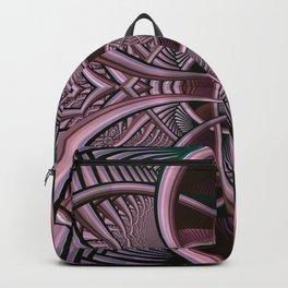 Mind-boggling, fractal abstract Backpack