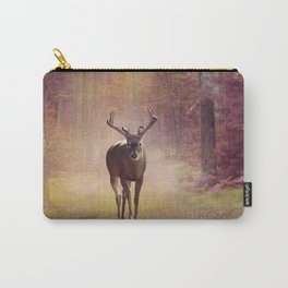 Male Deer in autumn forest Carry-All Pouch