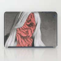 versace iPad Cases featuring Donatella - collage by Deborah Stevenson Collage Art
