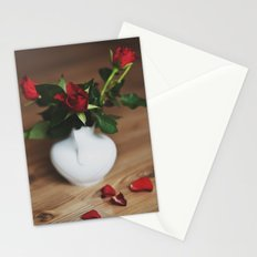 red love. Stationery Cards