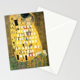 Don't Kiss Stationery Cards
