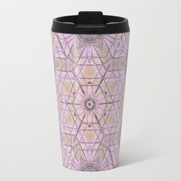 Pink Mandala Travel Mug