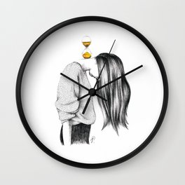 Weight of Time Wall Clock