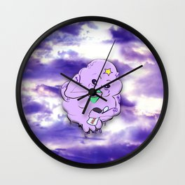 Meanwhile in Lumpy Space Wall Clock