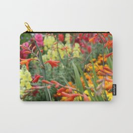 Flowers in the Kitchen Garden Carry-All Pouch
