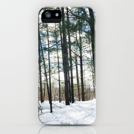 Winter Woods1 iPhone Case