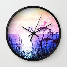 I believe in fairies Wall Clock