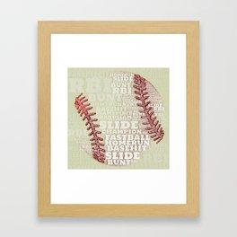 Batter Up Framed Art Print
