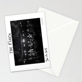 Birds in the Boneyard, Print 10: The Flock Stationery Cards
