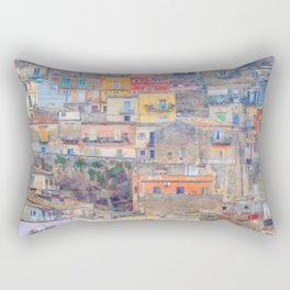 Mediterranean journey-Sicily Rectangular Pillow