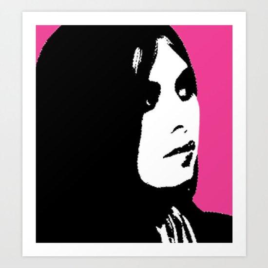 Jesi Meets Warhol Art Print