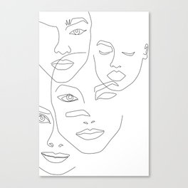 Different beauty Canvas Print