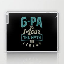 G-Pa The Myth The Legend Laptop & iPad Skin