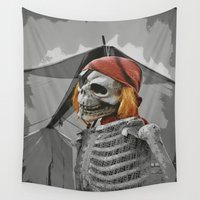 scary Wall Tapestries featuring scary by mayrarosito