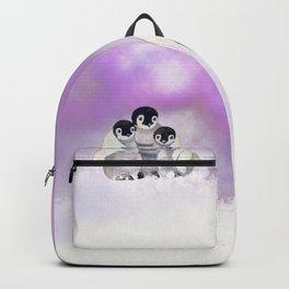 Three Siblings - Penguins  Backpack