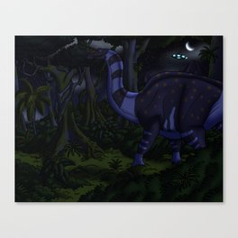 Probing Another World Canvas Print