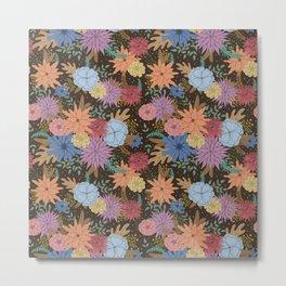 Wild Flowers of the Valley Metal Print