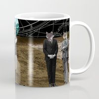 wolves Mugs featuring Wolves  by Design4u Studio