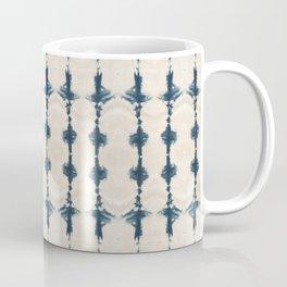 Shibori Movement in Indigo Coffee Mug