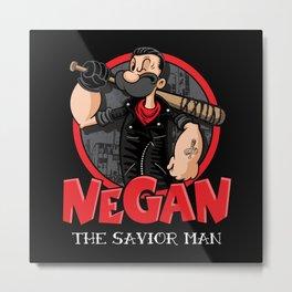 Negan the Savior Man Metal Print