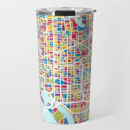 Washington DC Street Map Travel Mug