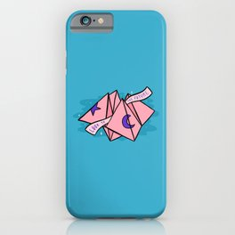Look to the Future iPhone Case