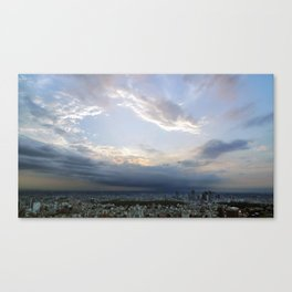 Views from Mori Tower Canvas Print