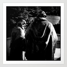 Monument to Cyril and Methodius Art Print