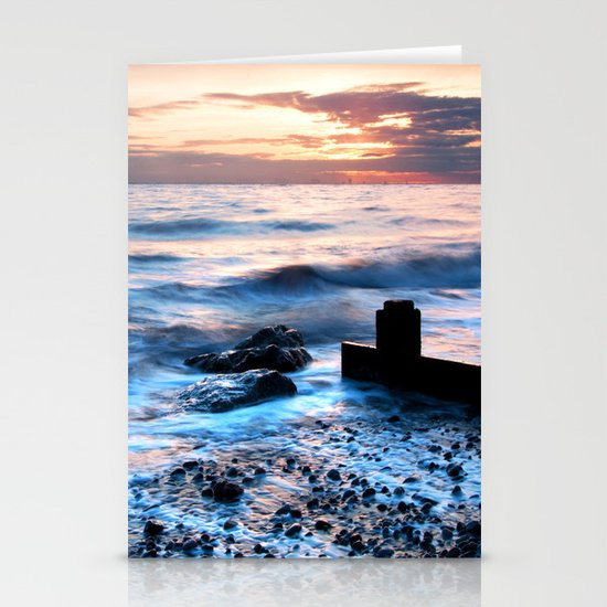 A gentle tide Stationery Cards